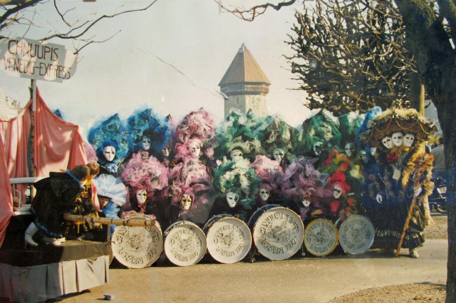 Fasnacht 1989 - Carnevale Venezia (Steckbrief)