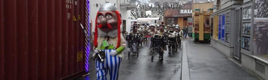 Römer folgen Obelix